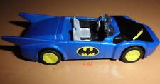 BATMAN Batmobile BLUE 1980s VER dark knight Super Powers design Hot Wheels toy