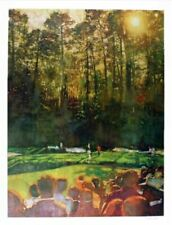 AUGUSTA Masters Golf Course - Limited Edition By Bernie Fuchs, SIGNED & NUMBERED