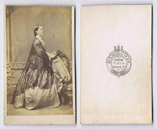 CDV Photograph Victorian Lady Carte de Visite by Cook of Cork Ireland