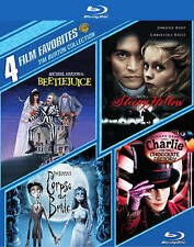 Tim Burton Collection, 4-Film Blu-ray (Beetlejuice/Sleepy Hollow/ Corpse Bride)