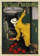 Victoria Arduino 1922 Leonetto Cappiello Art Print Vintage Espresso Poster 54x38