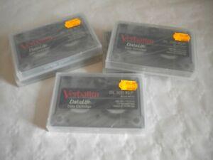 Vintage old stock Verbatim DL300XLP Datalife data cartridge x 5