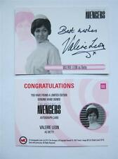 THE WOMAN OF THE AVENGERS Autograph Card of Valerie Leon as Betty