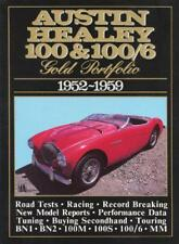 AUSTIN HEALEY 100 and 100/6 Gold Portfolio 1952-1959 (Brooklands livres Route