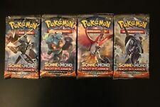 Pokemon Booster Sonne & Mond Serie 3 Nacht in Flammen Deutsch Neu