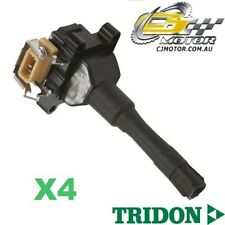TRIDON IGNITION COIL x4 FOR BMW  318iS E30 07/90-03/91, 4, 1.8L M42 B18