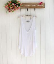 Summer Women Ladies Sleeveless Sexy V-Neck Vest Blouse Loose Tank Tops T-shirt