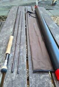 A FINE GREYS GREYFLEX M2 FLY ROD 9FT 6IN #6/7 LINES LITTLE USED CONDITION