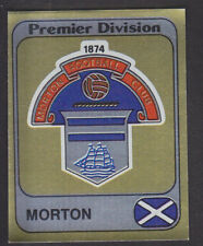 Panini - Football 82 - # 467 Morton Foil Badge