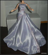 DRESS ONLY MATTEL BARBIE DOLL TWILIGHT GALA LILAC LAVENDER GOWN DRESS CLOTHING