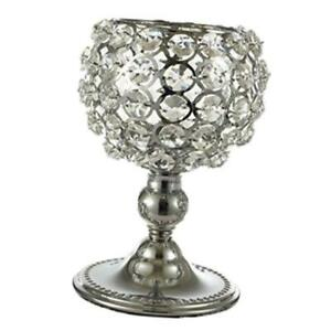 Crystal Candle  Candlesticks For Dining Room Wedding Table Decor Gift