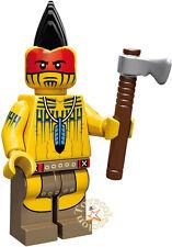 LEGO MINIFIGURES SERIE 10 MINIFIGURA TOMAHAWK WARRIOR 71001  ORIGINAL MINIFIGURE