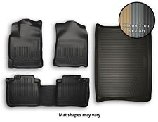 Husky WeatherBeater Front, Rear, Cargo Floor Mats All Weather Liners - 3 Colors