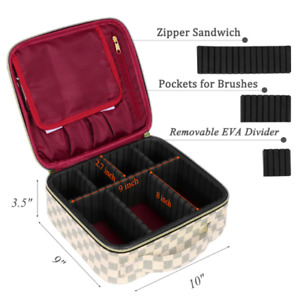 Makeup Cases  Travel Makeup Bag   Cosmetic Cases  Organizer Portable Storage Bag