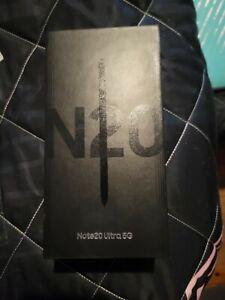 Samsung Galaxy Note20 Ultra 5G SM-N986U - 128GB - Mystic Black (Unlocked) new