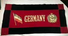 World War 1 Ww1 Imperial Germany Banner Flag Rare Antique