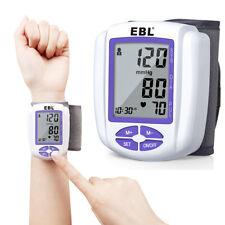 Automatic Digital Wrist Blood Pressure Monitor BP Cuff Machine Pulse Meter Test