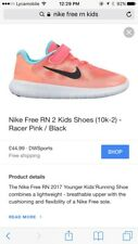 NIB Kids Girls Boys Nike Free RN 2 Shoes Trainers Uk 6 7 8 9 10 11 12 1 2 2.5