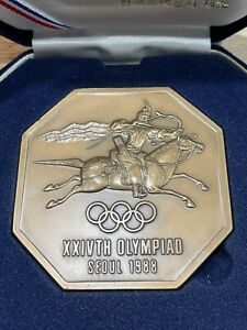 Olympic Games 1988. Participation Medal Seoul, Free Shipping