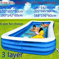 Inflatable Swimming Pool Outdoor Family Backyard Pools for Kids Child Balconies