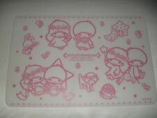 New 2015 Sanrio LITTLE TWIN STARS 2x Silicone Table Place Mat