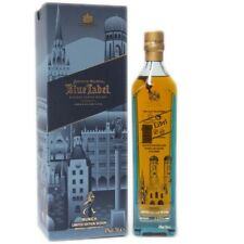 JOHNNIE WALKER Blue Label MUNICH Limited Edition Scotch Whisky 70 CL with box