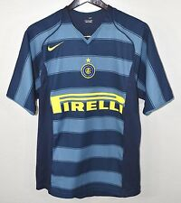 Inter Milan FC #10 Adriano Jersey SMALL Nike Internazionale Italy Soccer Italian