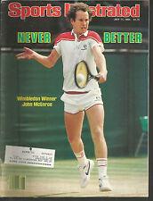 1983 Sports Illustrated John McEnroe(Tennis)