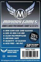 Mayday Premium Mini Euro 50 Card Sleeves 45Mm X 68Mm