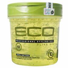 Eco Styler Gel Coiffant Huile Olive 100% pure 473 ml Tenue supérieure Eclat sain