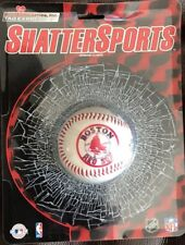 MLB ShattersSports - Boston Red Sox 1/2 Baseball RICCO Industries Tag Express