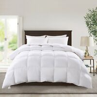 Kasentex Hotel Luxury Down Warm Ultra Soft Quilted Comforter. Winter