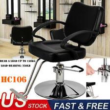 Reclining Hydraulic Barber Chair Styling Salon Beauty Shampoo Spa Equipment New