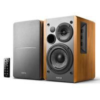 Edifier R1280DB Powered Bluetooth Bookshelf Speakers - Optical Input - Wood