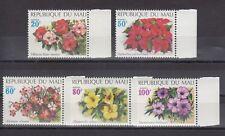 TIMBRE STAMP  5 MALI  Y&T#164-68  FLEUR FLOWER  NEUF**/MNH-MINT 1971 ~B48