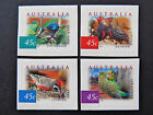 Australian Decimal Stamps: 2001 Nature of Australia - Desert Birds-Set 4 P&S MNH