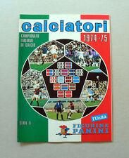 FIGURINE ORIGINALI CALCIATORI PANINI 1974-1975 0,35€  MANCOLISTE ALBUM RECUPERO