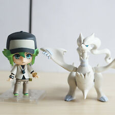 "Anime Pokemon N and Reshiram 4"" Nendoroid  537 PVC Action Figure New In Box"
