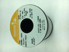 Indium Wire Solder, .032 in., Sn63 Pb37, CW-807, 1 lb. Spool