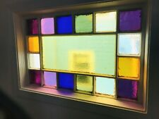 ANTIQUE STAINED GLASS WINDOW from 1890s Somerville PA