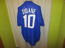 "Francia ""F.F.F."" nº 577 adidas hogar WM camiseta 2002 + nº 10 zidane talla XXL Top"