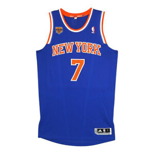 Carmelo Anthony Adidas 2016-17 New York Knicks Authentic Pro Cut Jersey Large