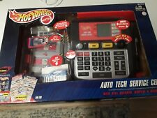 Hot Wheels Auto Tech Service Center With Real Scanner,Display,Microphon e Nib