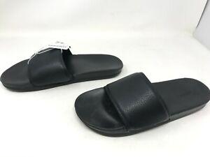 Mens Skechers (51808) GAMBIX Black Slides (447T)