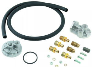Mr Gasket 7682 Remote Oil Filter Kit FORD