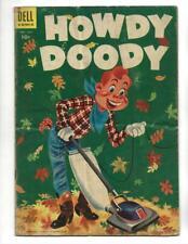 Howdy Doody #30 1954 Vacuuming Leaves Cover!