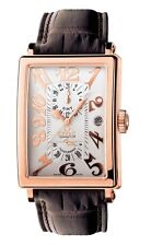 Gevril Men 5120 Avenue of Americas Swiss ETA 2892 Automatic 18K SOLID ROSE GOLD
