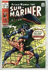 Sub-Mariner #10-1969 fn+ Gene Colan / Dan Adkins