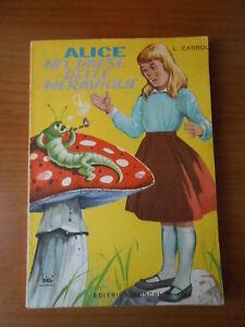 libro fiaba-ALICE nel paese delle meraviglie-L.CARROL-ED.BOSCHI 1977-sc.78