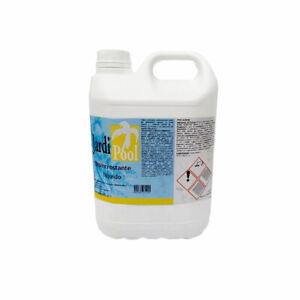 Jardi Pool Disincrostante Piscina 5 lt Detergente Liquido Pulizia Bordo Pareti